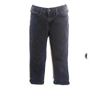 Womens Denizen Levi's  Cropped Jeans 28